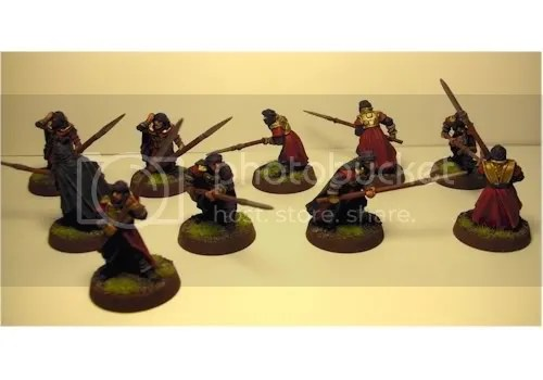 Harad Warriors - w/Spear