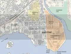 Hunts Point Map