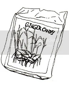ginger candy anyone?