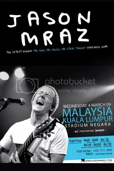 Jason Mraz Live in Malaysia 2009
