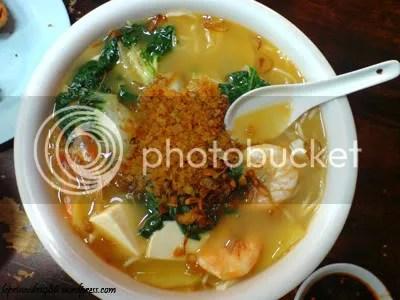 XLLL Prawn Soup Noodles