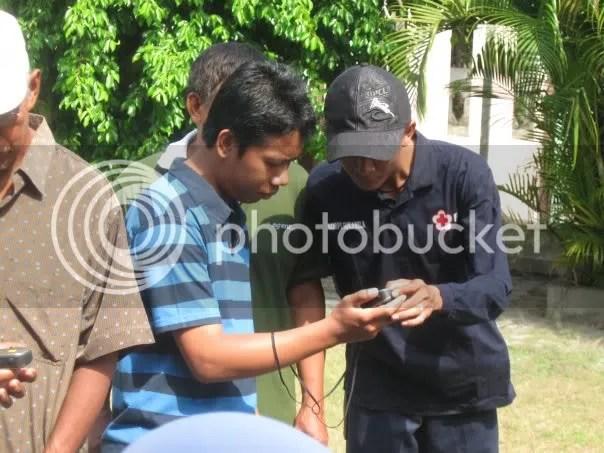 Tim Sibat sedang Briefing..