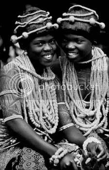 Africans still smiling
