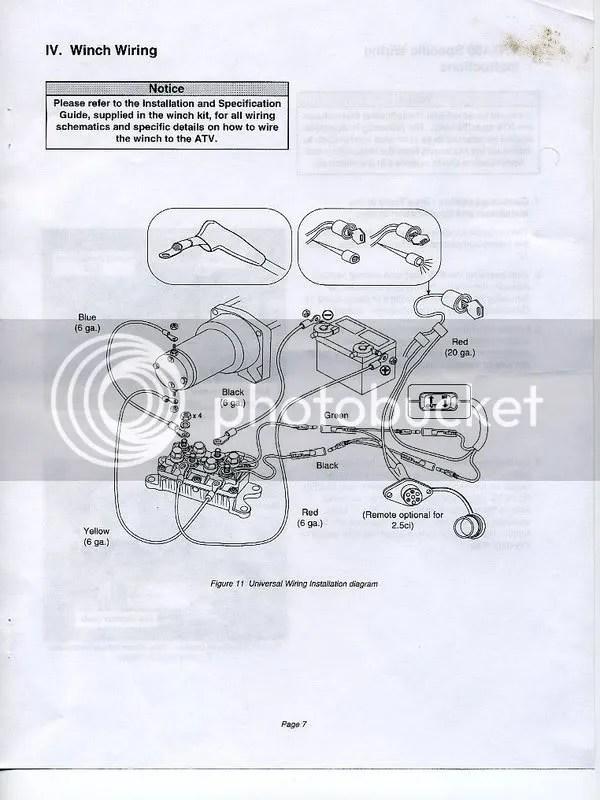 Wiring Diagram For Polaris Winch : Polaris rzr winches wiring diagram solenoid