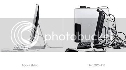 iMac vs Dell