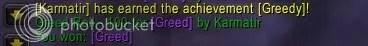 Greedy Achievement