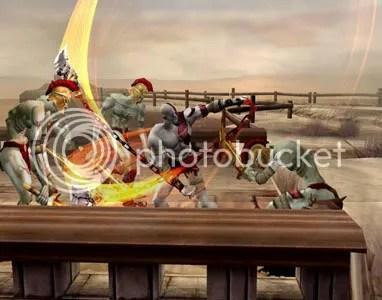 God of War's weakness: PLANKS