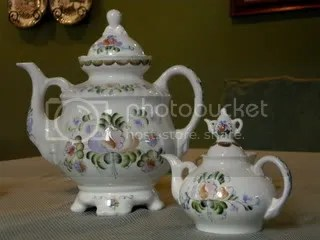 The Russian Pouring Teapot ~ Samovar (6/6)