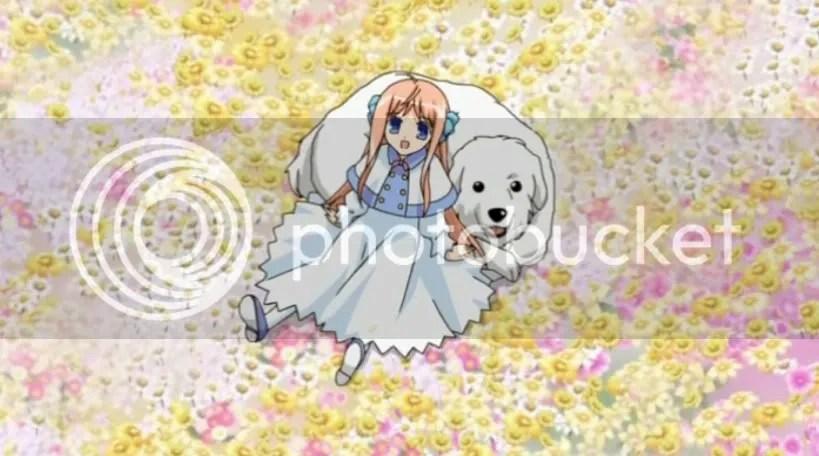 Chibi Kuu + Dog.
