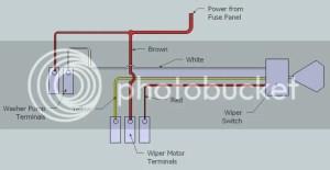 Windshield wiper wiring 1966 Chevelle  Hot Rod Forum