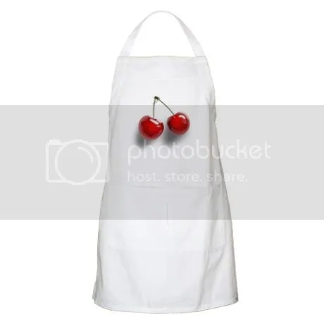 Cherry BBQ Apron on CafePress