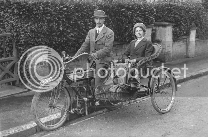 1910 Ariel 482cc Outfit