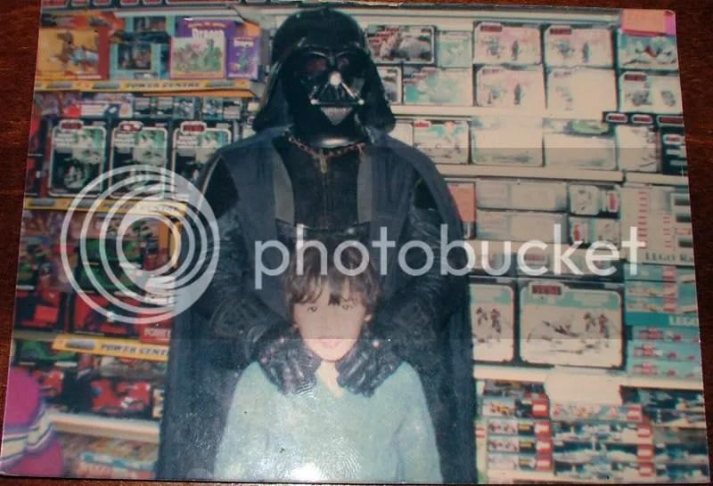 Coco meets Vader himself, circa Jan 1984