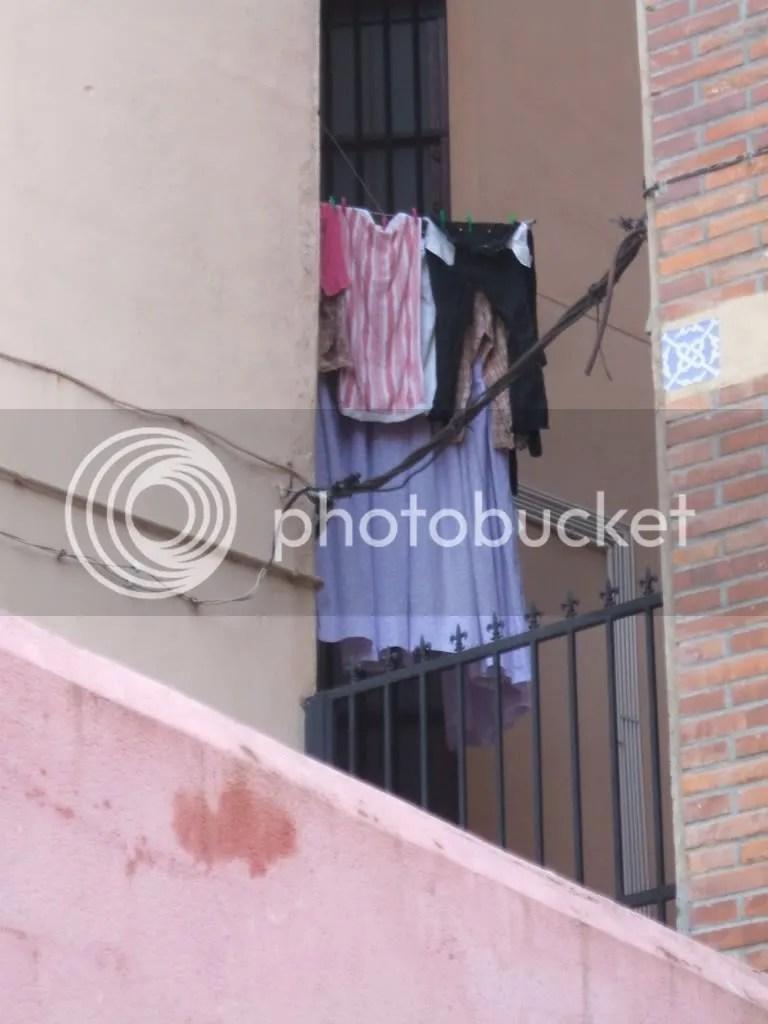 Un recoveco para secar la ropa cerca de las Cumbres Eternas.