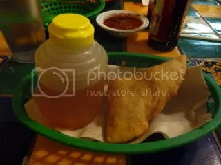 Sopapillas with honey made locally in Winslow, AZ