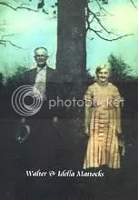 Walter Andrew and Rachel Idella (Crane) Mattocks