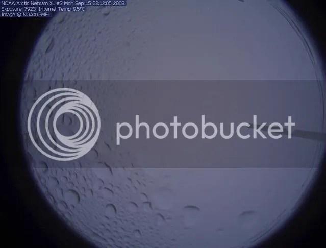 NOAA North Pole webcam #3, 14 September 2008