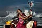 Eva Mendes - Campari Calendar Photoshoot