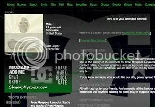 DC Myspace Layout
