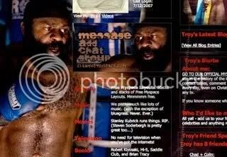 Kimbo Slice Myspace Background