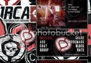Circa Myspace Graphic