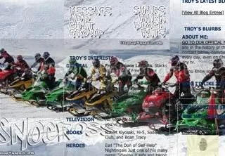 Snowcross Myspace Layouts