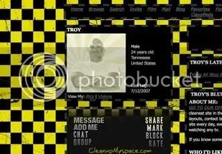 Yellow Checkers Myspace Background 74b95b2e137