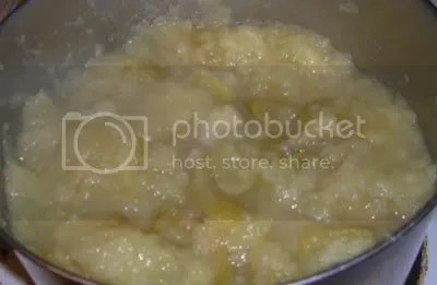 Applesauce with peels