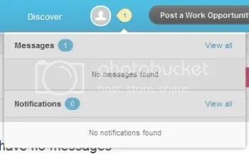 Screenshot from SkillPages showing conflicting information about the number of messages.