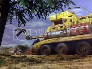 'CrabLogger One' from Thunderbirds