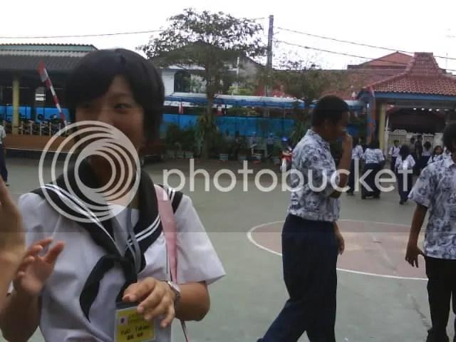 Yuki Takami-san, murid pertukaran pelajar di sekolahku.
