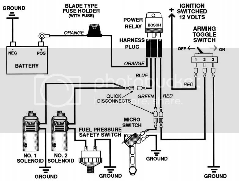 Nitrous System Wiring Diagram Free Picture Schematic