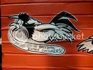 The chicken knows