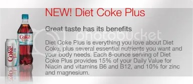 diet Coke Plus desc.