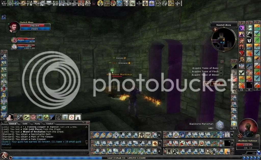 photo Charloc sweeping a blackbone marksman in Haunted Library_zpsficzs8gm.jpg