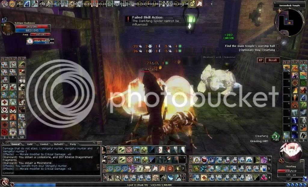 Erdrique fighting Clearfang in Sorrowdusk Temple photo ErdriquefightingClearfaninSorrowduskTemple_zpseabb0565.jpg