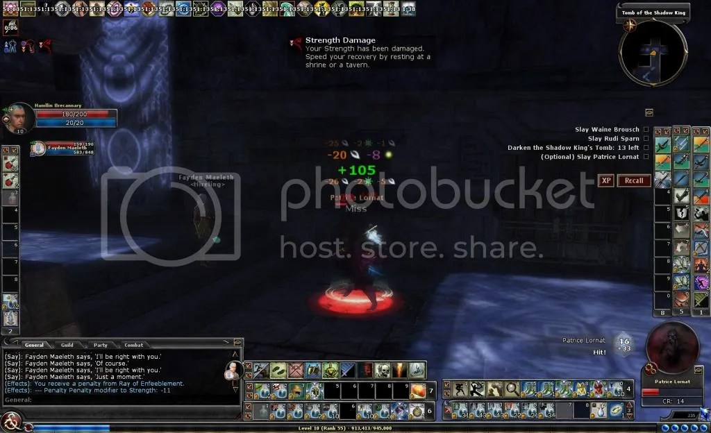 Hamllin fighting Patice Lornat in Tomb of the Shadow King photo ScreenShot00000_zps25d8399f.jpg