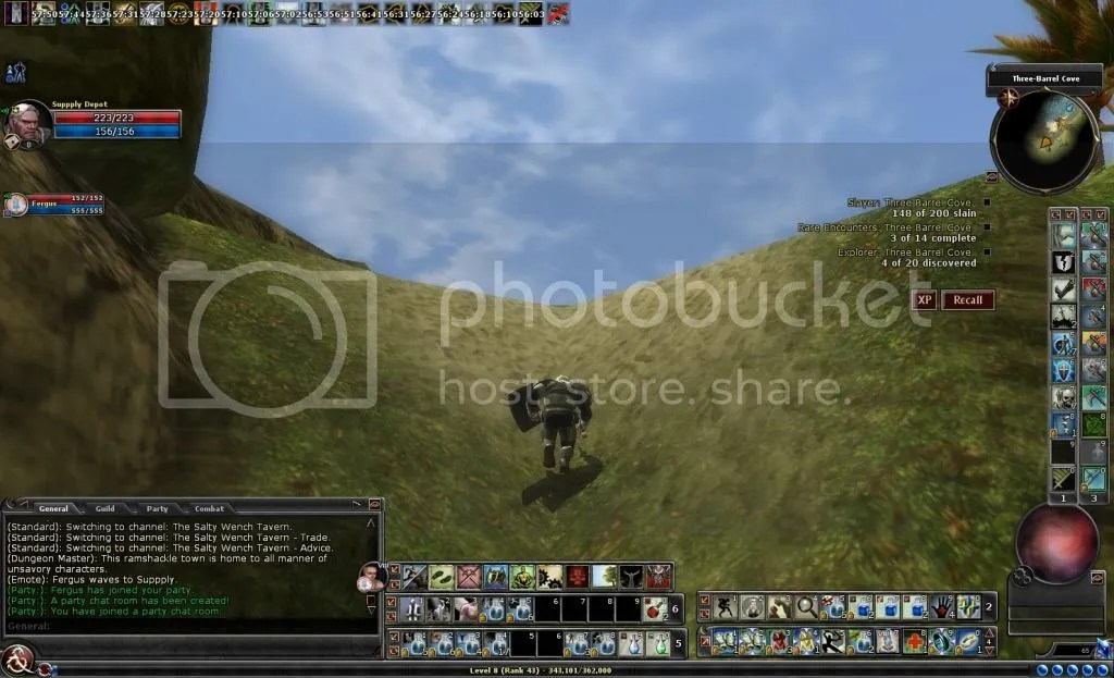 Suppply climbing a hill in the Cove photo Suppplyclimbingahillinthecove_zps38afb15f.jpg