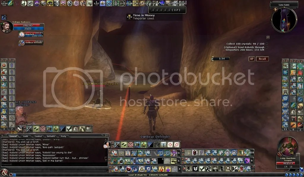 photo Erd taking on the scorpion in the Lava Caves Time is Money_zpsm44yzjzq.jpg
