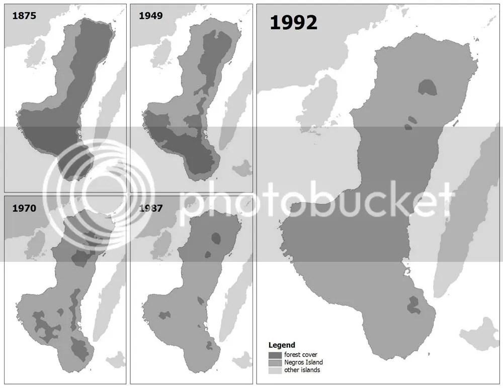 Forest Decline in Negros Island