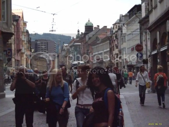 Europe trip 2005, Innsbruck streets again