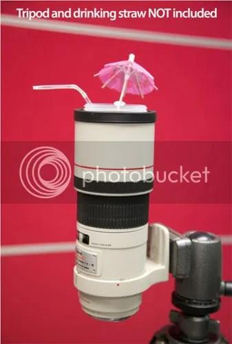 Digital Rev Canon 300mm Lens cup