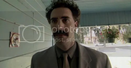 Sacha Baron Cohen Shirtless