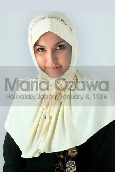 Maria Ozawa On Jilbab Fashion