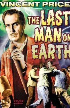 The Last Man on Earth DVD cover, Vincent Price