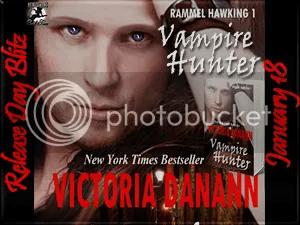 Victoria Danannan Vampire Hunter Tour Button