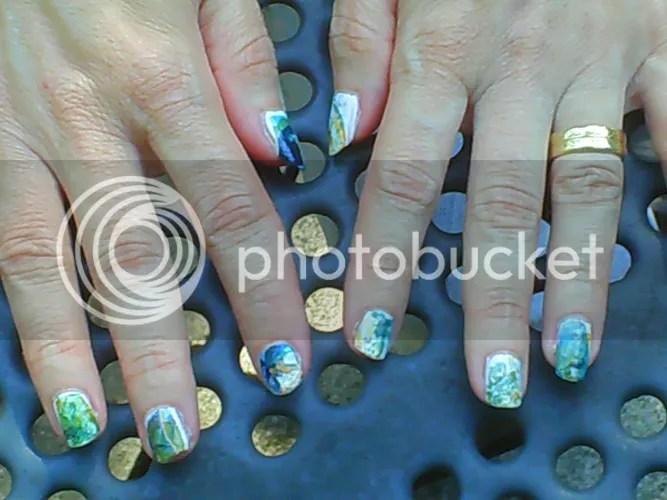 marbeled nails