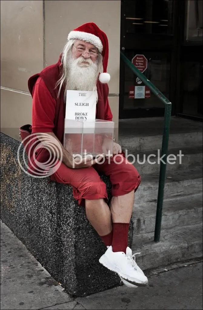 Santa Bum