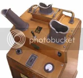 shoe-fitting fluorscope top