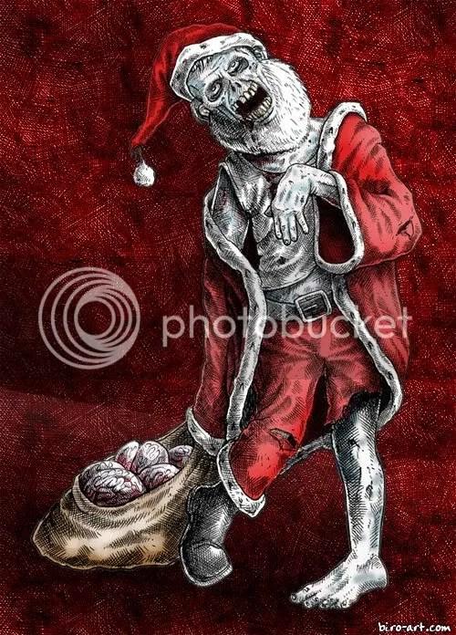 Zombie Santa